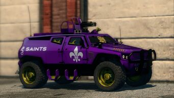 Saints N-Forcer in Saints Row The Third - front right