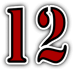 File:Saints Row 2 clothing logo - No12 number.png
