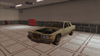 Saints Row variants - Stiletto - Beater with no Hood - front left