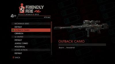 Weapon - Special - Sniper Rifle - McManus 2020 - Outback Camo
