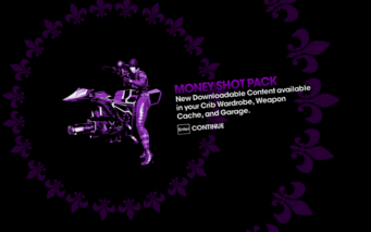 DLC unlock SRTT - Moneyshot Pack