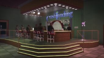 Crash Landing - Bar area again