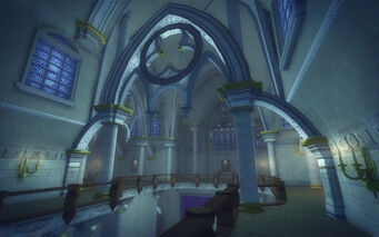 Saints Row Church - upstairs midway