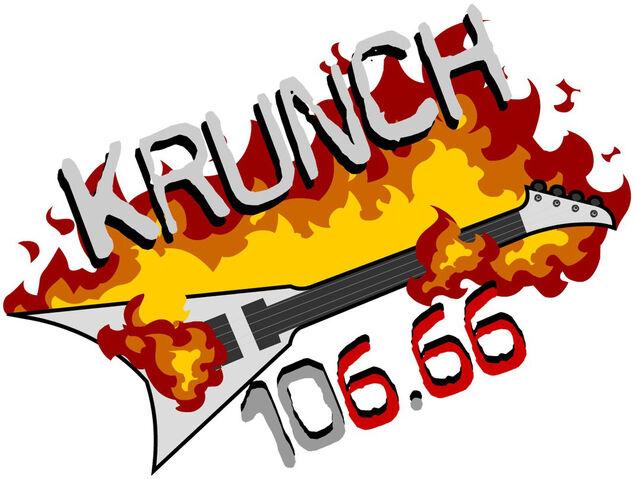 File:The Krunch 106.66 logo.jpg