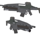 AR-50 w/Grenade Launcher