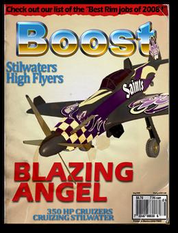Boost-unlock racing plane
