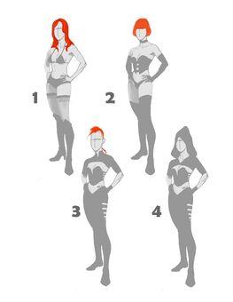 Kinzie Super Homie Concept Art - 4 versions
