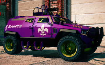 Saints N-Forcer in Saints Row IV - front right