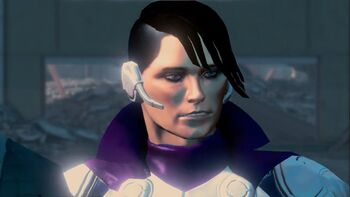 Matt Miller - Super Saint outfit in Saints Row IV War for Humanity trailer