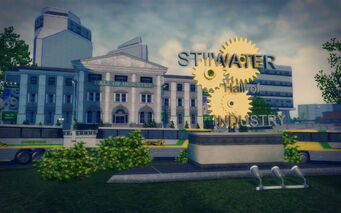 Humbolt Park in Saints Row 2 - Stilwater Hall of Industry