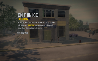 On Thin Ice in Tidal Spring purchased in Saints Row 2