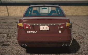 Saints Row IV variants - Eiswolf ultimate - rear