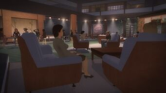 Tohoku Towers - ground floor seating