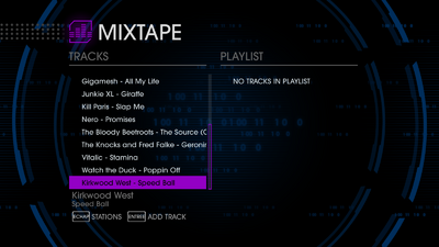 K12 97.6 - Saints Row IV tracklist - bottom