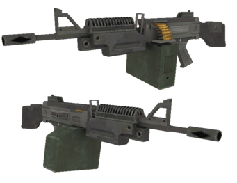 AR200 SAW - Saints Row 2 model