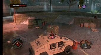 Bulldog - Military with Turret in Saints Row The Third