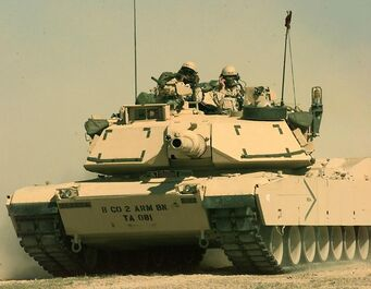Challenger - M1 Abrams in real life