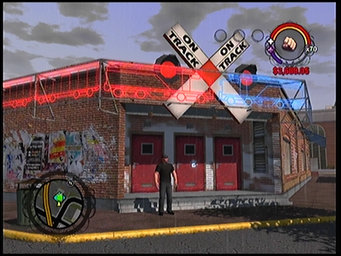 On Track exterior entrance in Saints Row