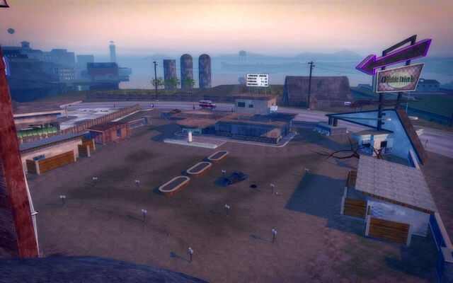File:Pleasant View in Saints Row 2 - Drive-in from mountain.jpg