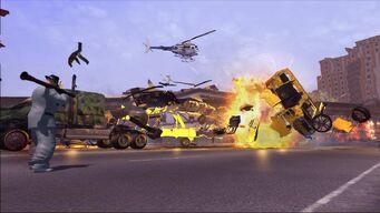 RPG Launcher Explosion
