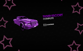 Tiger Escort complete