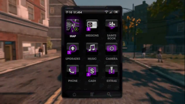 File:Cellphone menu in Saints Row The Third.png