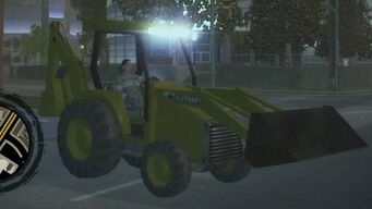 Backhoe in Saints Row 2