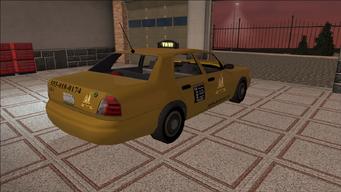 Saints Row variants - Taxi - Chop Shop - rear right