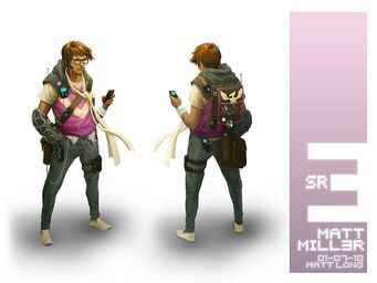 Matt Miller Concept Art from Saints Row The Third