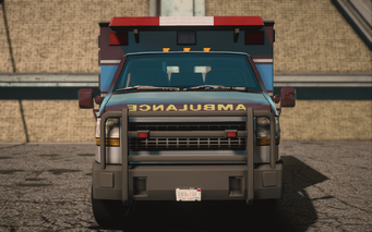 Saints Row IV variants - Ambulance Average - front