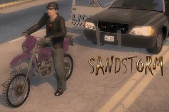 Sandstorm - front left with logo in Saints Row 2