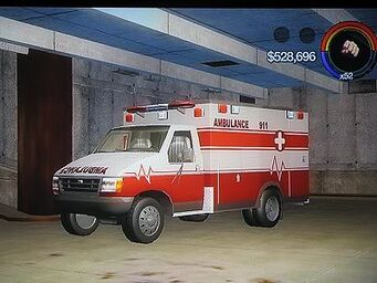 Ambulance - front left in Saints Row 2