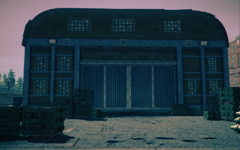 Guard Armory exterior in Saints Row IV