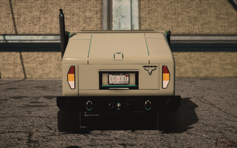 Saints Row IV variants - Bulldog Military - rear
