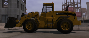 Bulldozer in Saints Row - left