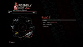 Weapon - SMGs - Menu