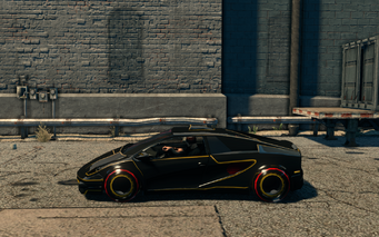 Wraith - left in Saints Row The Third