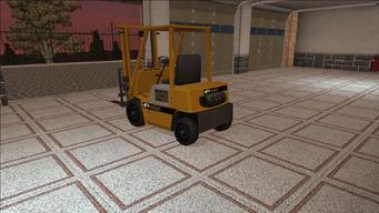 Saints Row variants - Forklift - standard - rear left