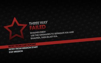 Three Way failed - Shaundi Died
