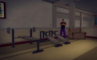 Downtown Loft - Modern - gym