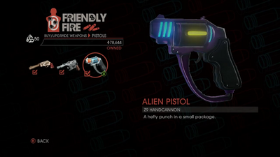 Weapon - Pistols - Alien Pistol - Main