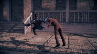 Combat - Saints Row IV beatdown - Faceplant