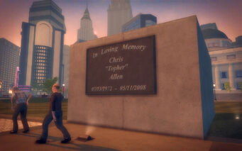 Adept Way in Saints Row 2 - Chris Topher Allen memorial