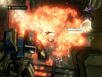 Matt's Back - Defend Matt objective with large explosion