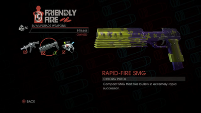 Weapon - SMGs - Rapid-Fire SMG - Main