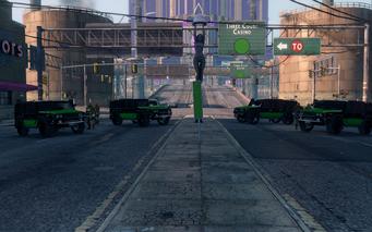 SRTT Roadblock - Luchadores level 2 - large
