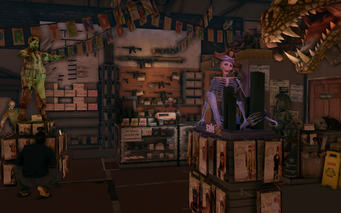 Let's Pretend - interior in Saints Row The Third