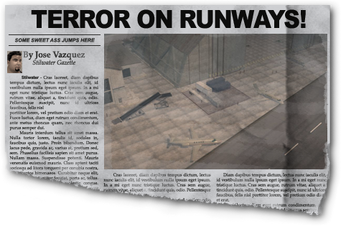 Newspaper sh bh airport Wardill Airport Hangars