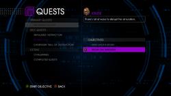 Break on Through in quest log