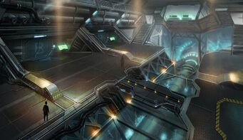 Daedalus Interior Concept Art